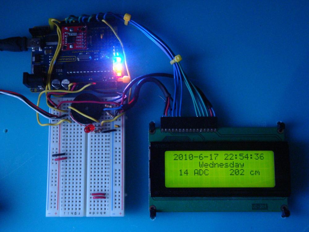 Automao com Arduino, Bluetooth, RTC
