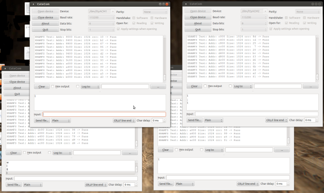4xXRAMFS Client Monitors Screenshot