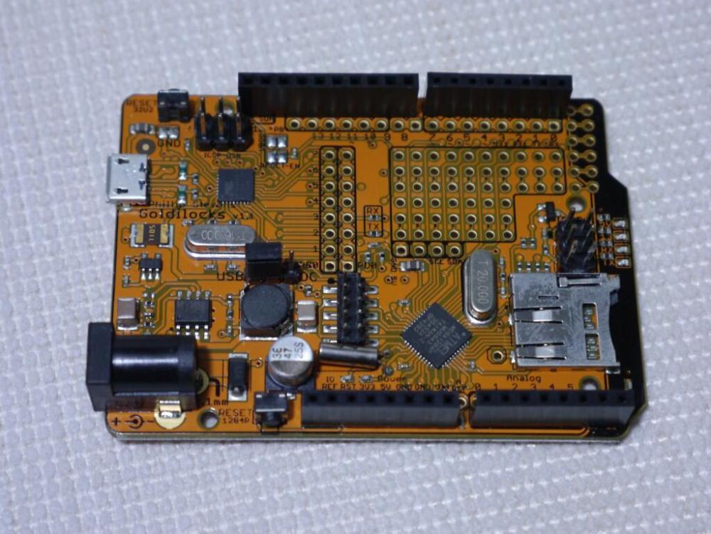 """Goldilocks"" 1284p Arduino UNO Clone (1/6)"
