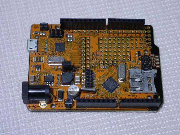 Goldilocks 20MHz PCB