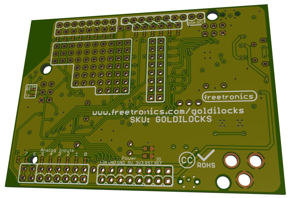 """Goldilocks"" 1284p Arduino UNO Clone (3/6)"