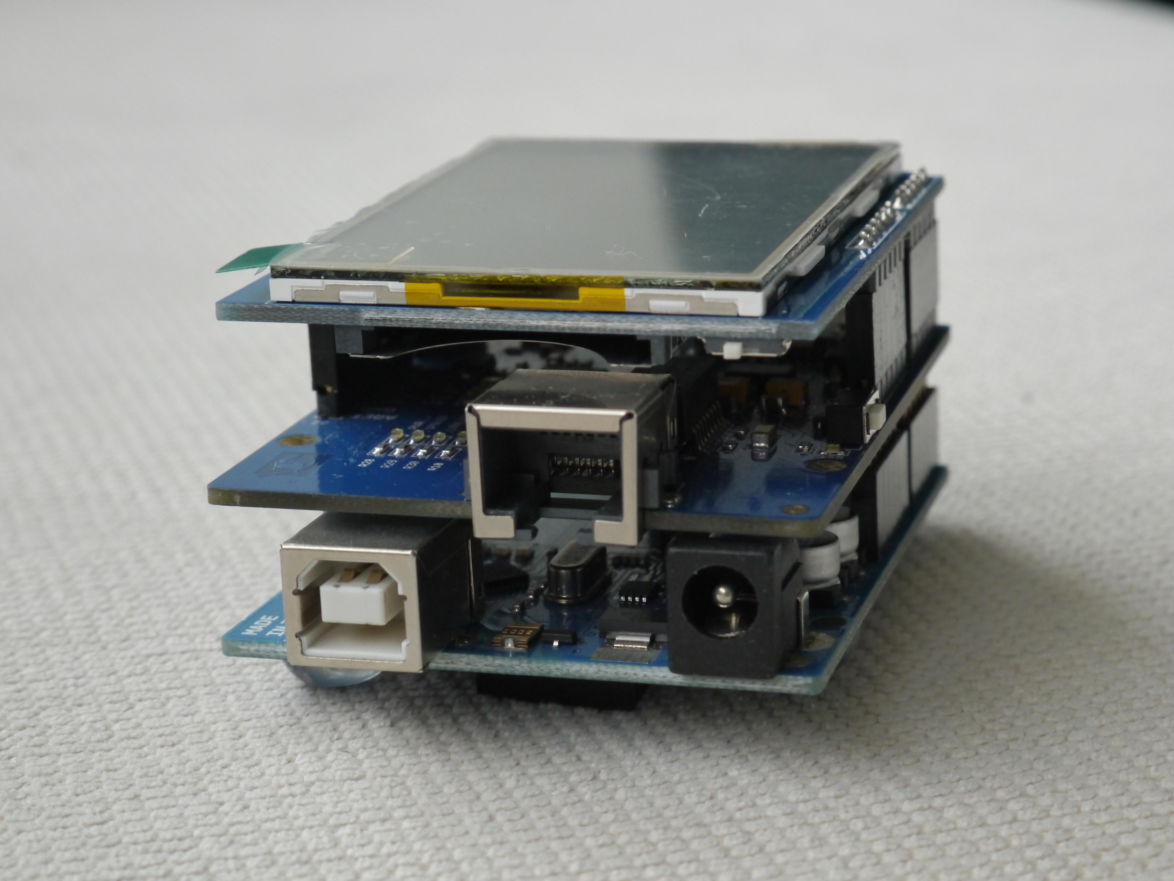 Wiznet W5200 Arduino Shield by Elecrow   feilipu