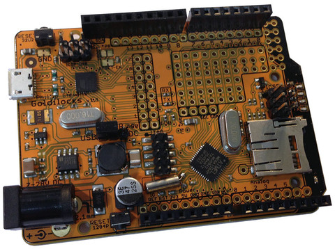 Goldilocks Arduino 1284p