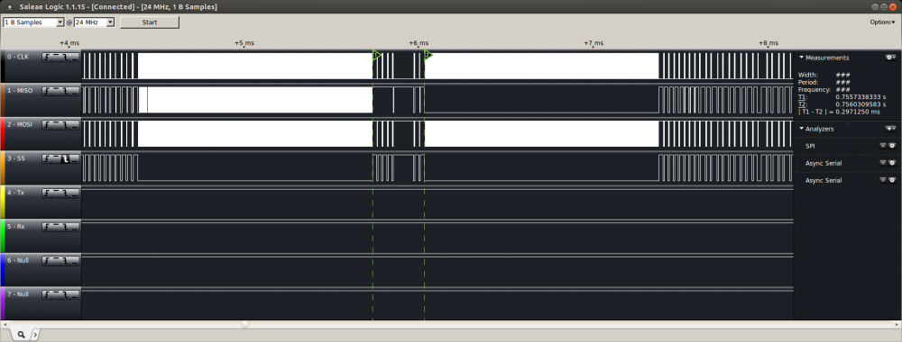uIP on Wiznet W5200 versus W5100 on Goldilocks 1284p (5/6)