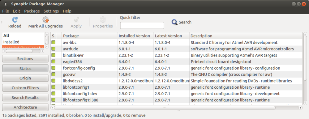 avrdude 6.0.1, avr-gcc 4.8, and keestux Eclipse AVR Plugin 2.4.1 (1/2)