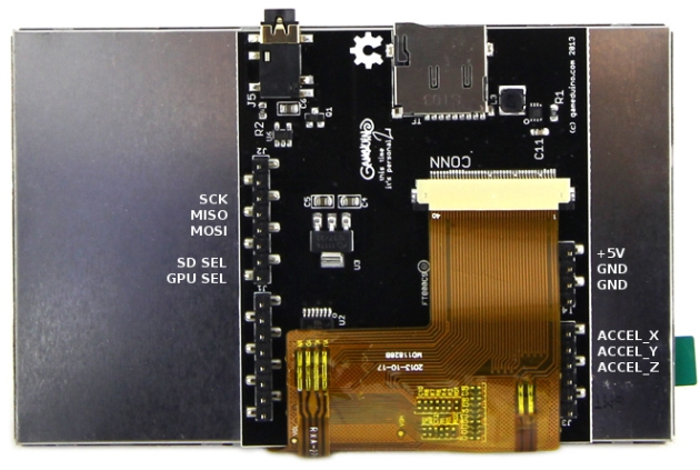 Gameduino 2 Shield