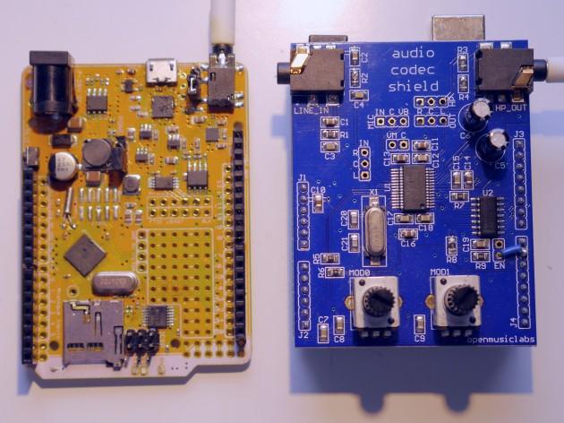 Goldilocks Analogue & OML Audio Codec Shield