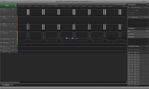 44.1kHz samples using USART MSPI output.