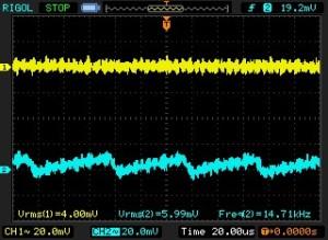 GA PP 3.3V and -3V Power Supply Noise